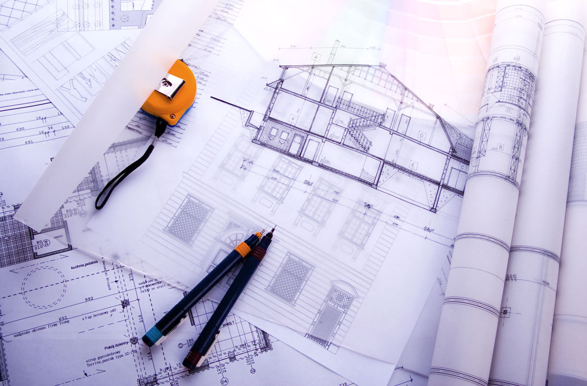blueprints and drawings