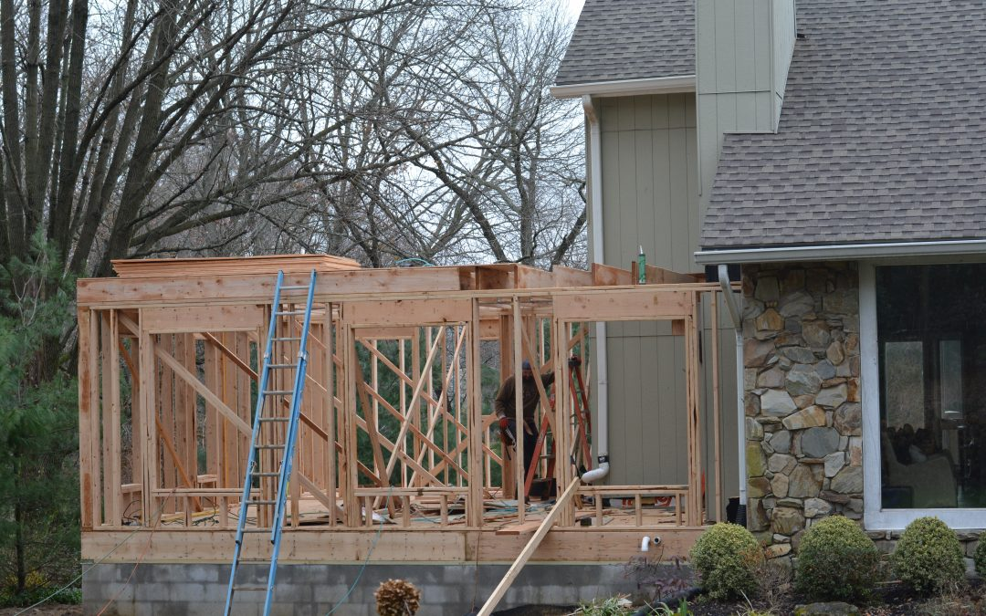 Riverton Road Addition – First Floor Framing