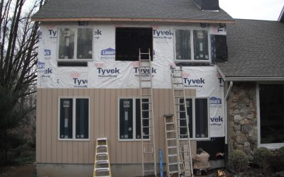 Exterior of Two-Story Addition in Moorestown, NJ