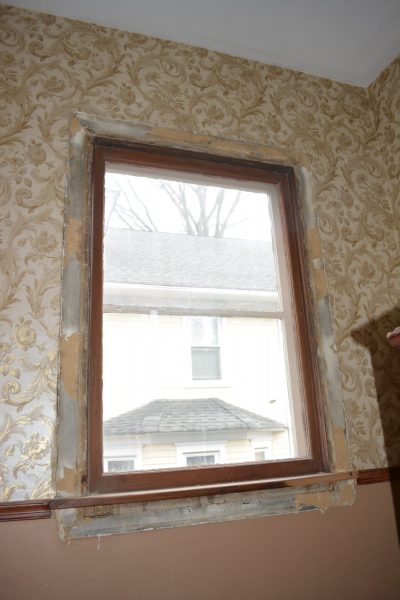 Haddonfield NJ historic home remodel windows molding removal by R. Craig Lord Construction