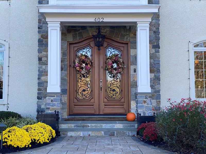 Cap front door